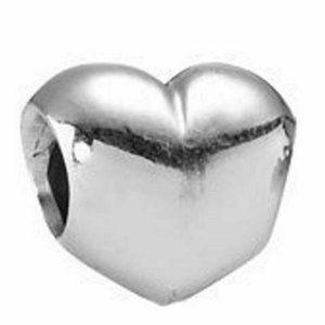 Pandora Smooth Heart Charm 790137 *Retired*